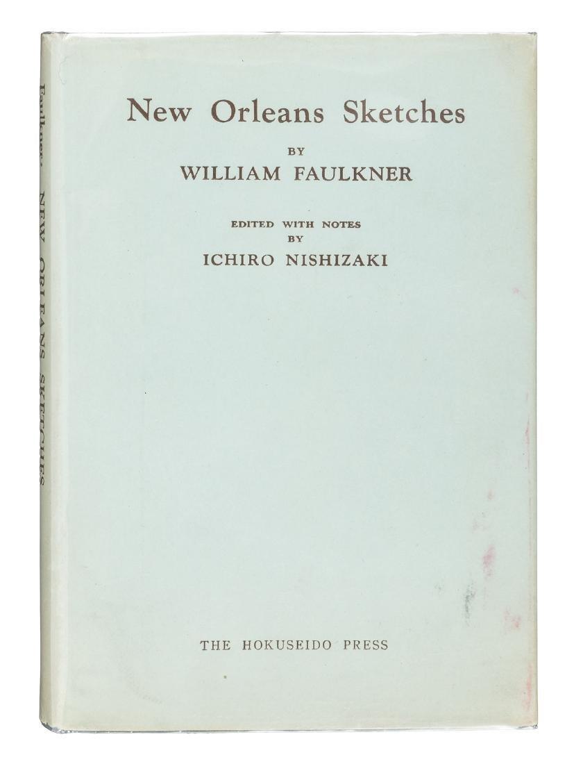 Faulkner, New Orleans Sketches 1st Ed. 1953 in dj
