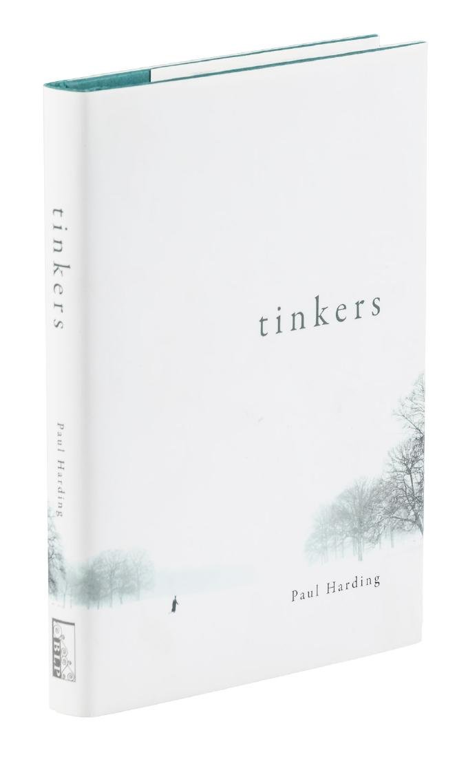 Paul Harding Tinkers signed first edition
