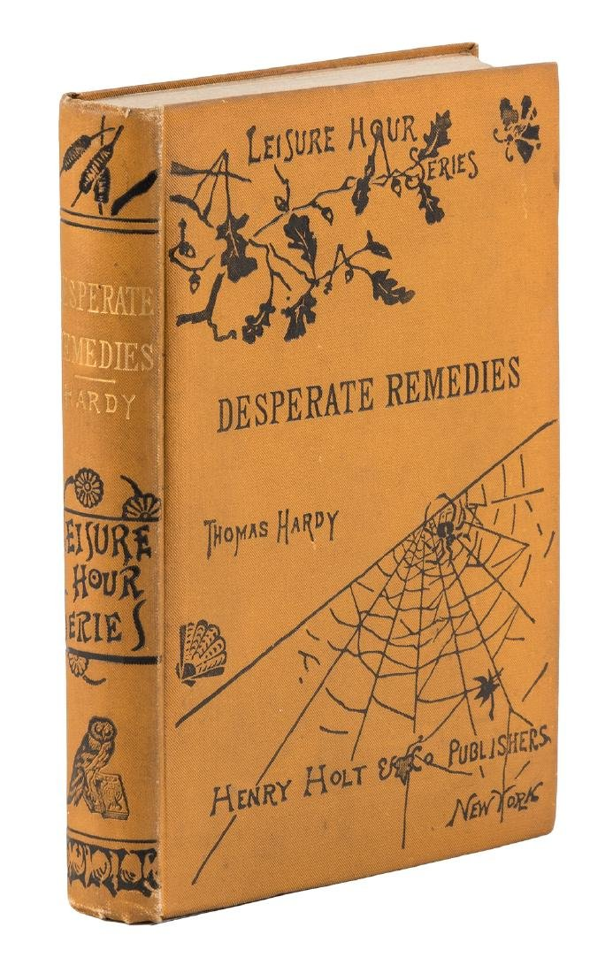 Thomas Hardy's Desperate Remedies 1st American ed.