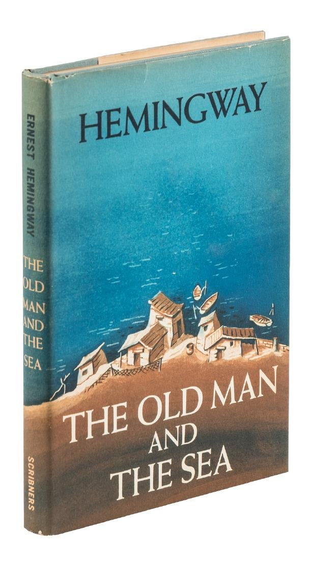 Hemingway's Old Man and the Sea splendid copy