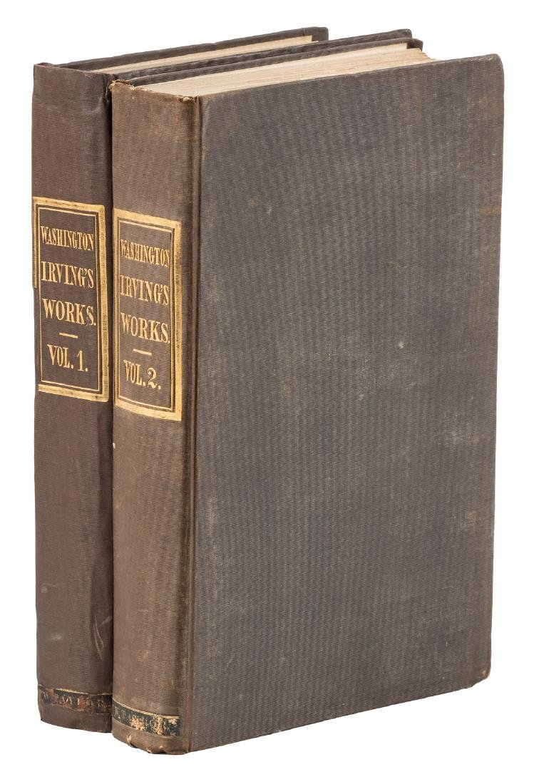 Works of Washington Irving, 1840
