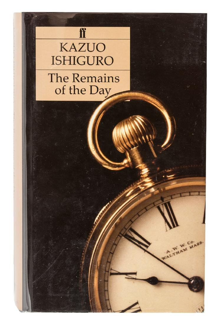 Kazuo Ishiguro The Remains of the Day signed 1st