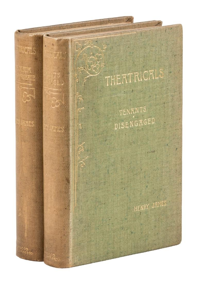 Henry James' Theatricals, 2 vols.