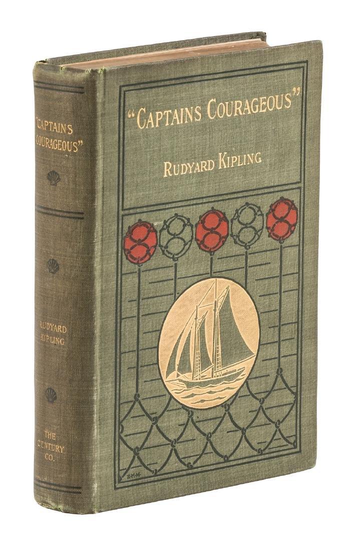 Rudyard Kipling Captains Courageous 1st American