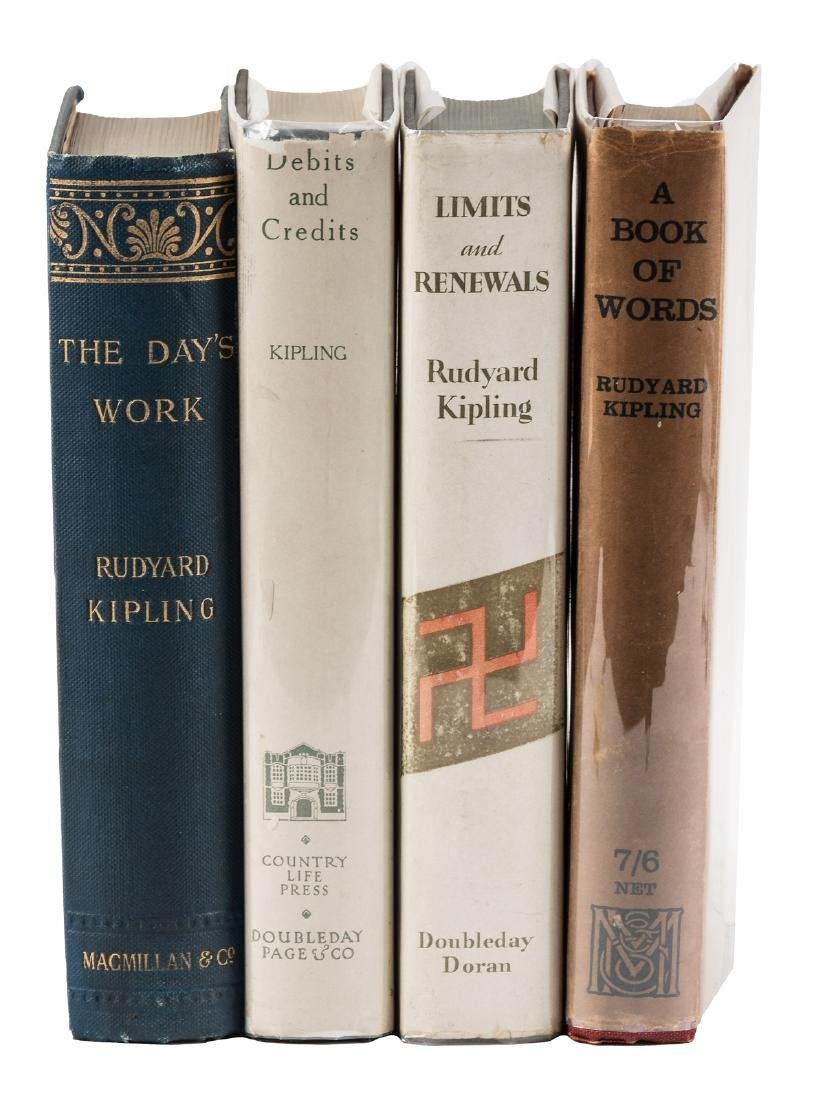 Four First Editions by Rudyard Kipling
