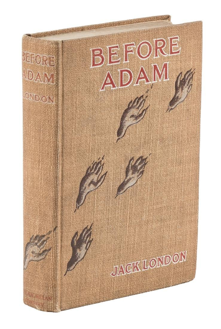 Jack London Before Adam 1st Edition