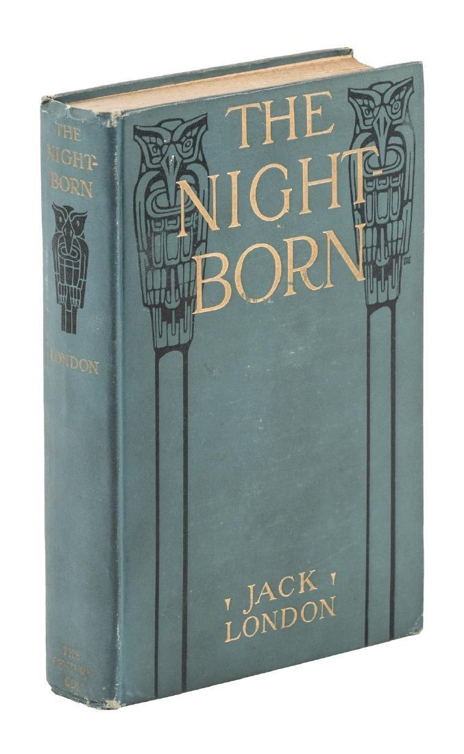 Jack London The Night Born 1st Edition