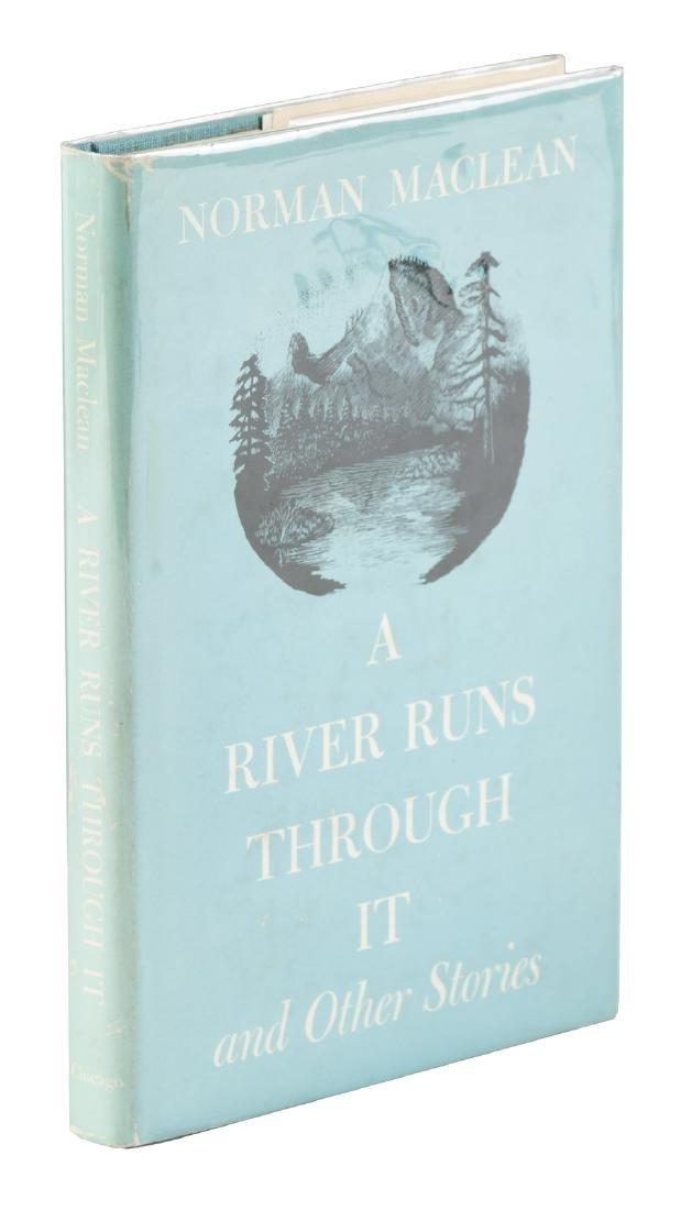 Norman Maclean A River Runs Through It 1st Edn