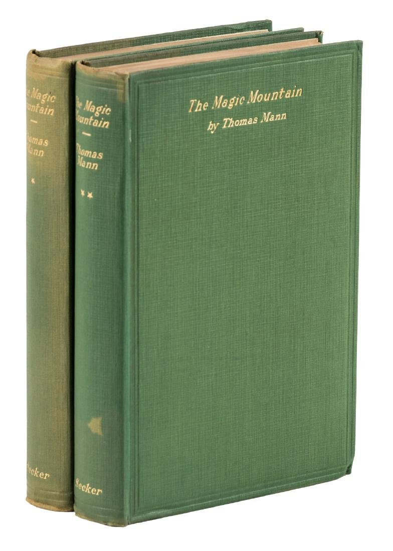 Thomas Mann's Magic Mountain 1st English edition