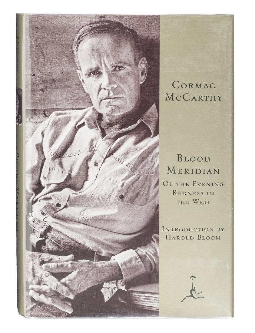 Signed Cormac McCarthy Blood Meridian