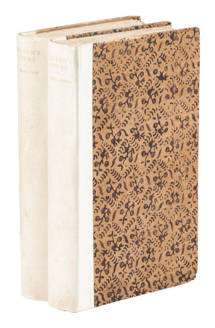 Nonesuch Press edition of John Milton's Poems