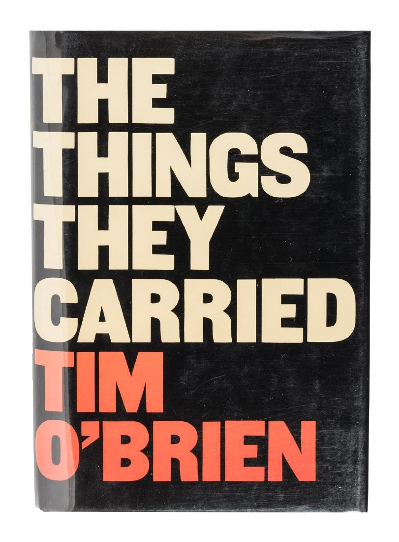 O'Brien, The Things They Carried signed 1st