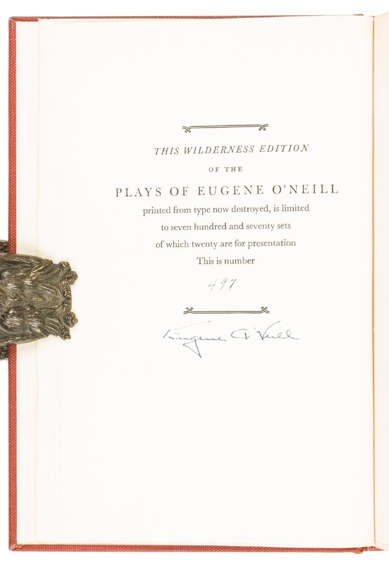 Eugene O'Neill Plays Wilderness Edition Signed - 2