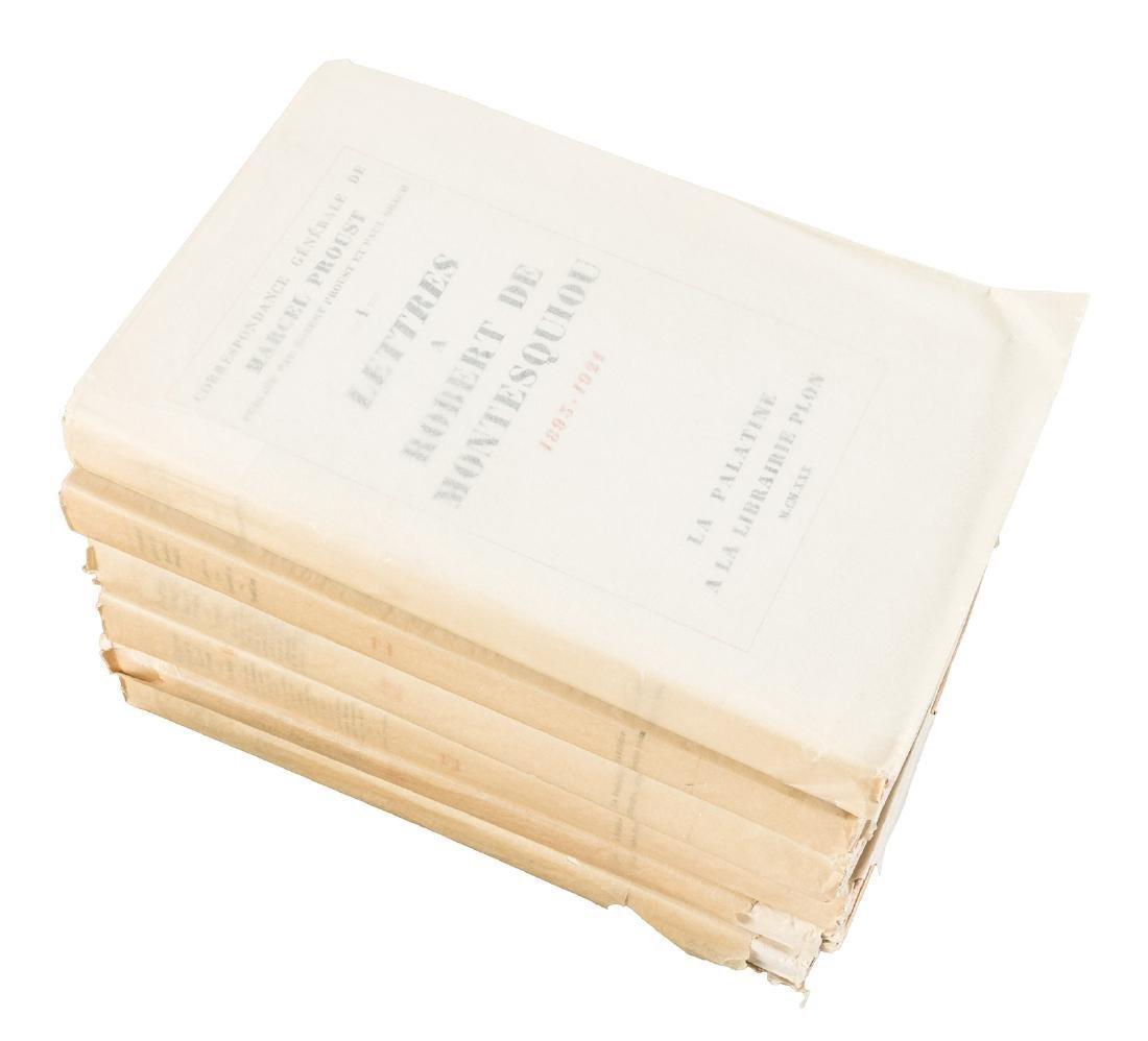 Proust's letters 6 volumes