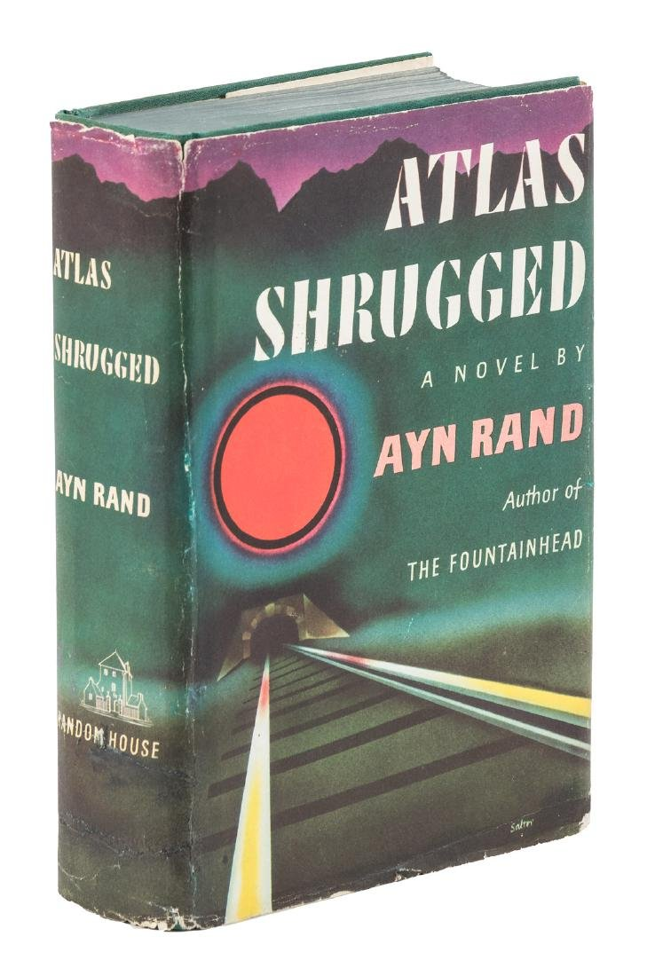 Ayn Rand Atlas Shrugged First Edition in Dust Jacket