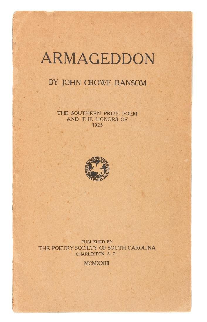 John Crowe Ransom's Armageddon