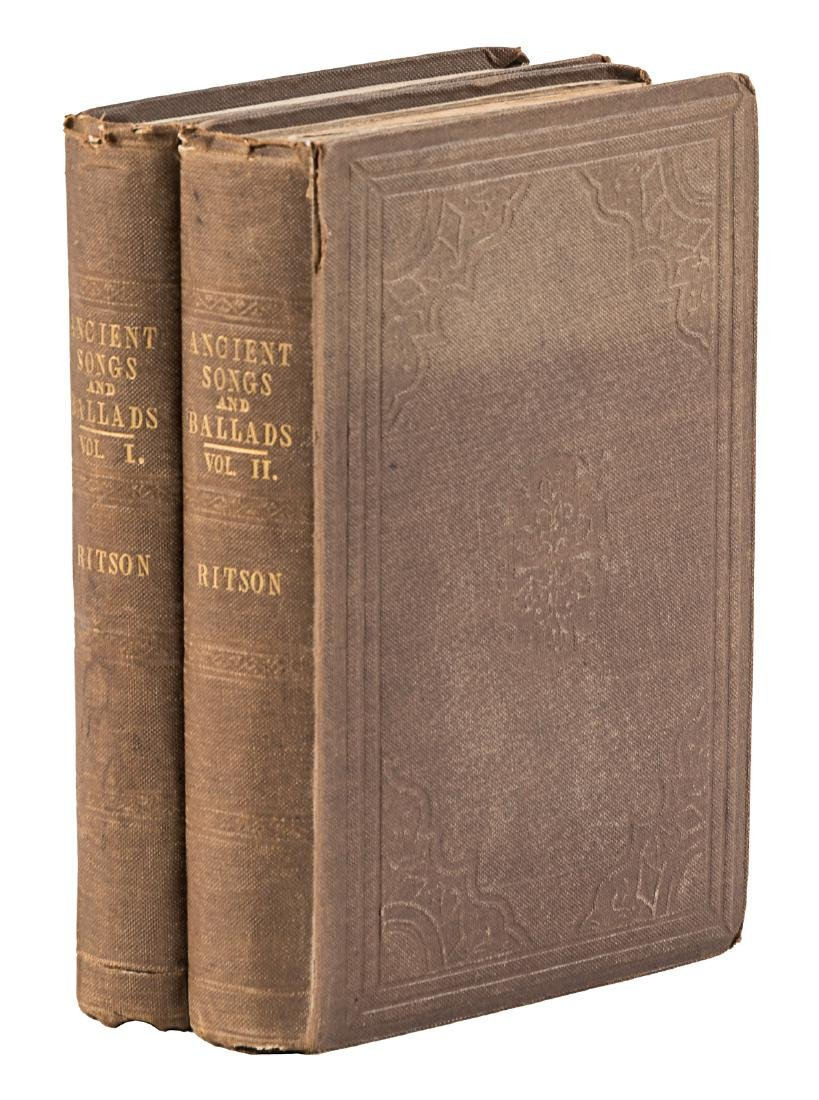 Ancient Songs and Ballads 1829