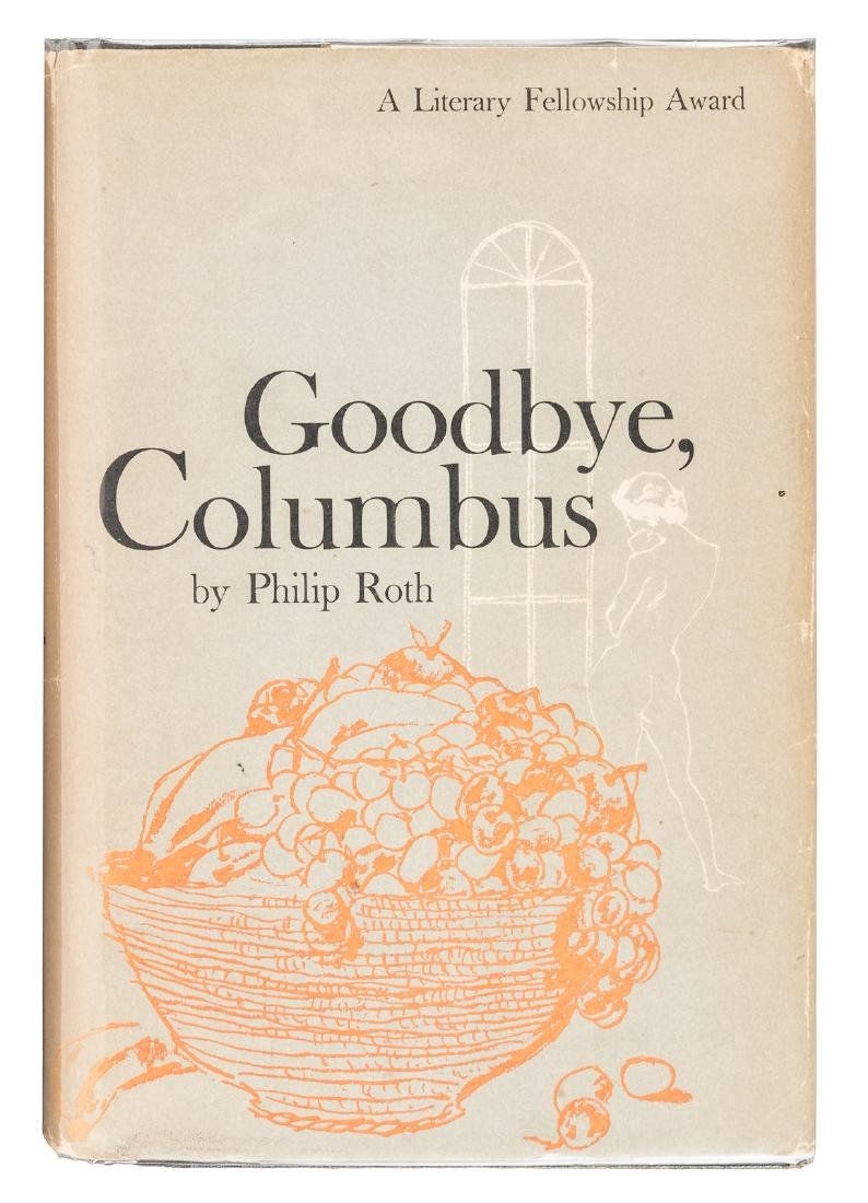 Philip Roth Goodbye, Columbus his first book