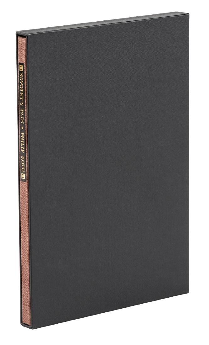 Philip Roth Novotny's Pain limited edition signed