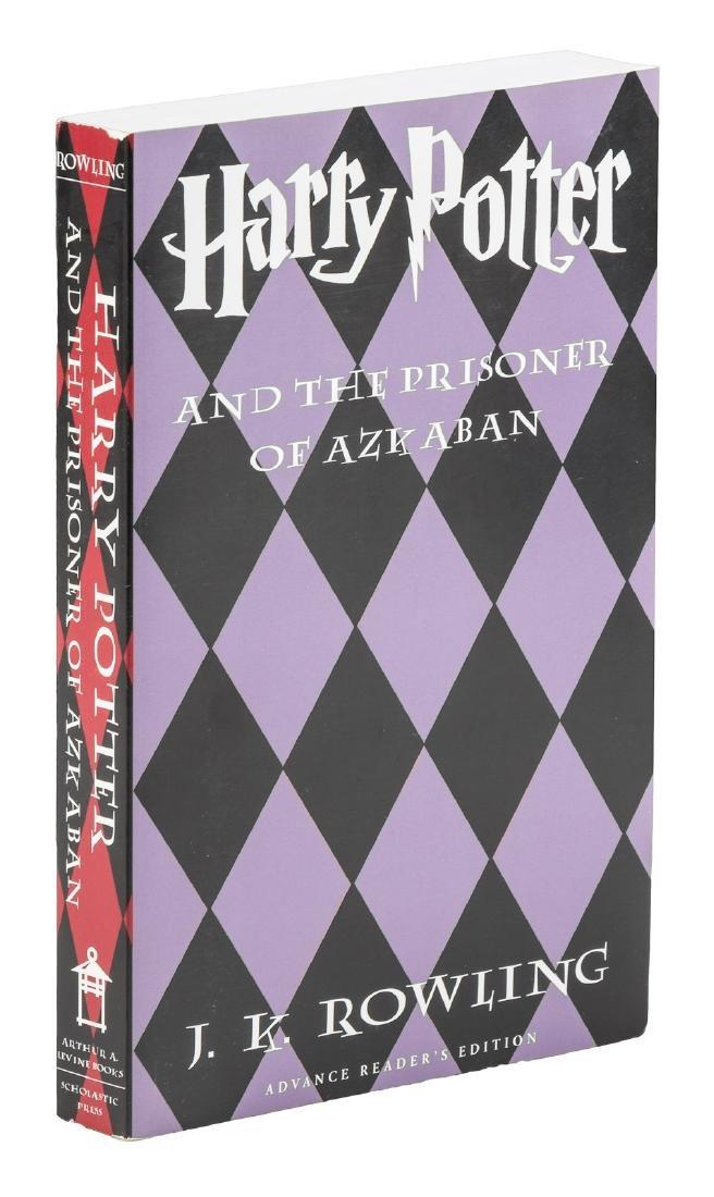 Advance Reader's Copy of the Prisoner of Azkaban