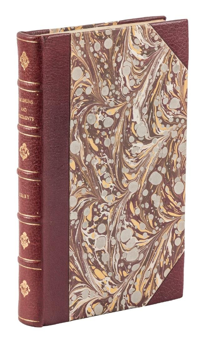 Finely bound work by Charles Selby, 1846