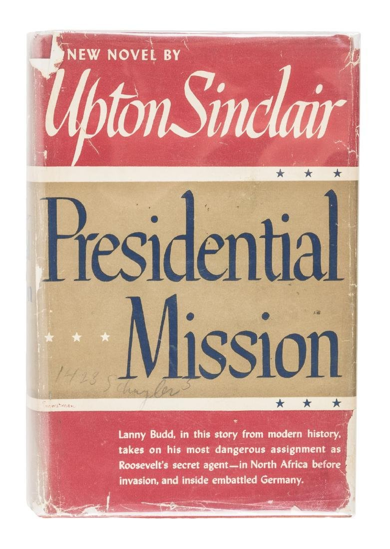 Upton Sinclair Presidential Mission author's issue