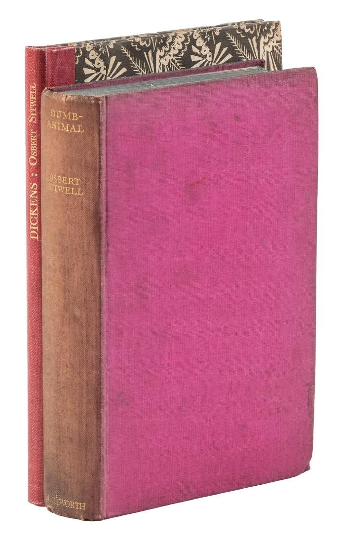 Two signed first editions by Osbert Sitwell