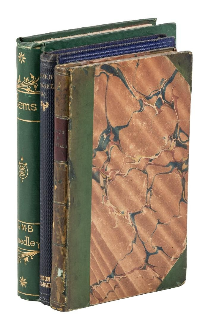 Menella Bute Smedley, 3 volumes of poems