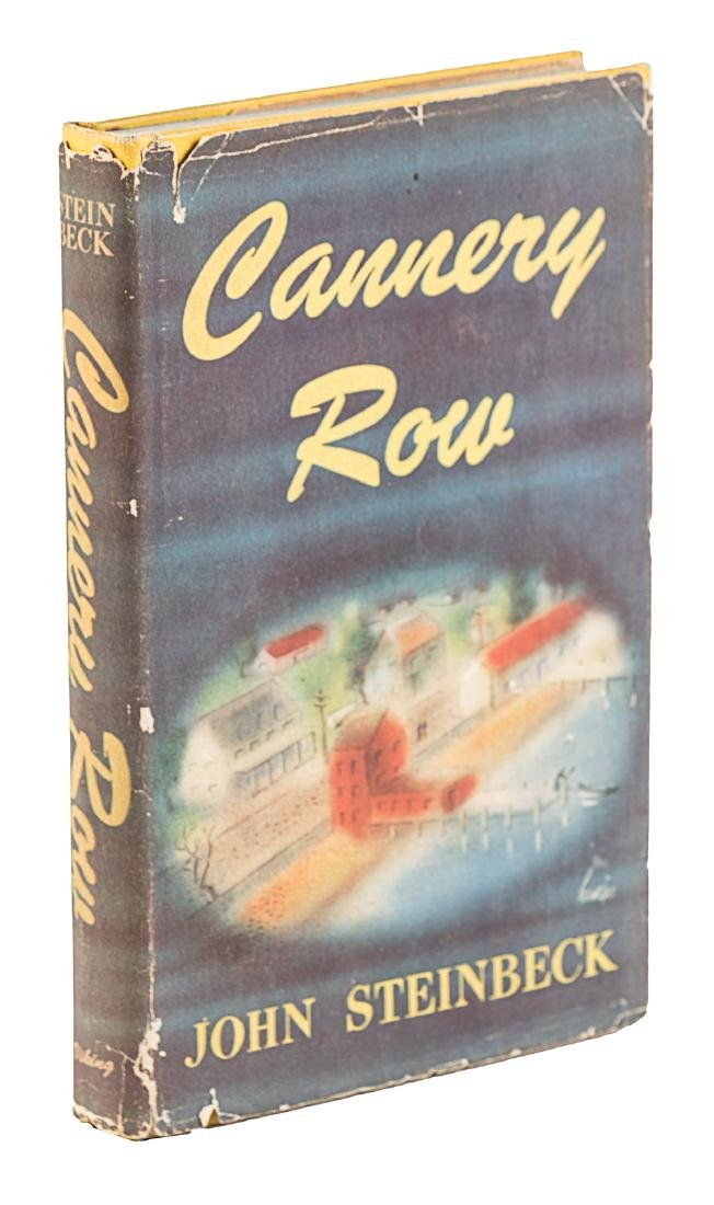 Cannery Row inscribed by John Steinbeck