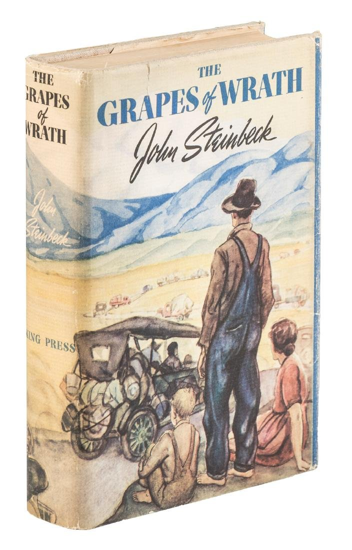 Steinbeck's Grapes of Wrath in jacket