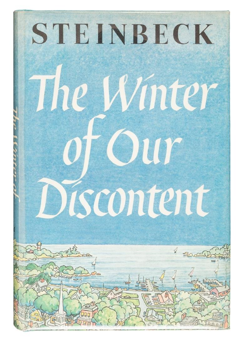 Steinbeck's Winter of Our Discontent fine in jacket