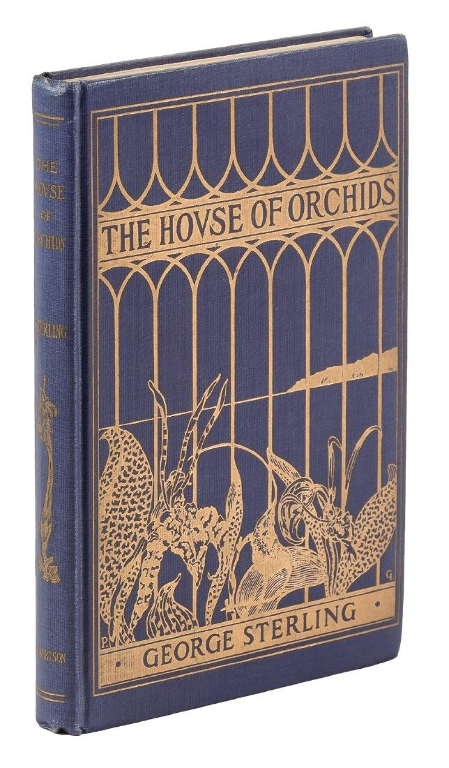 George Sterling, House of Orchids inscribed