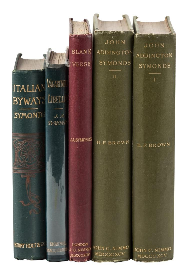 Four works by or about John Addington Symonds