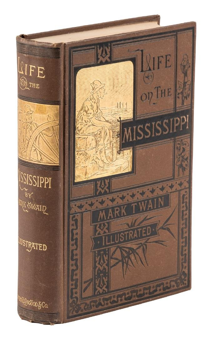 Mark Twain Life on the Mississippi 1st Edition
