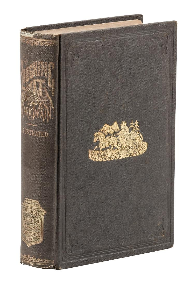 Mark Twain Roughing It First Edition