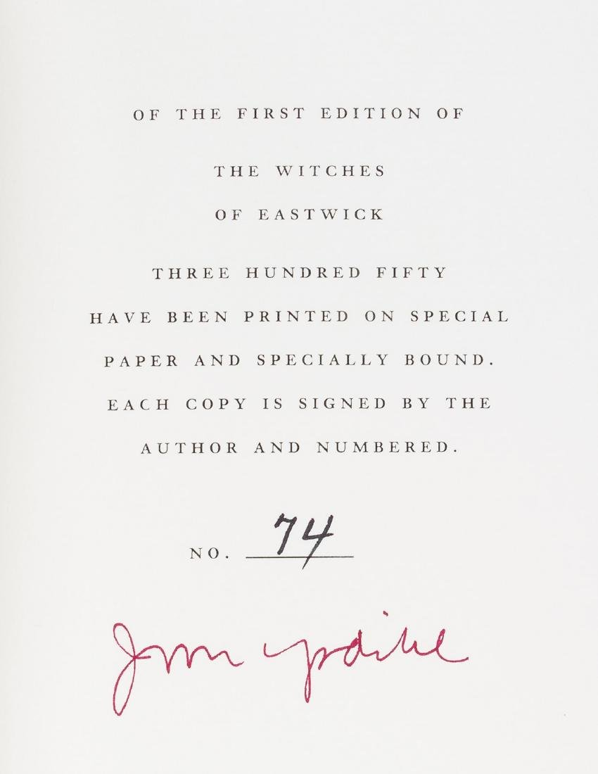 Updike, The Witches of Eastwick signed 1/350 - 2