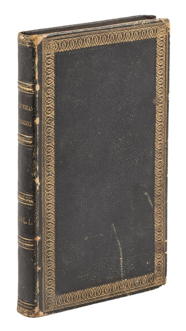 Two early Walt Whitman appearances 1844