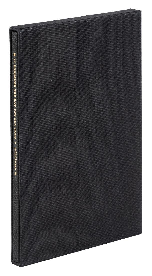 Signed limited edition by Tennessee Williams