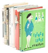 Seven PG Wodehouse first editions