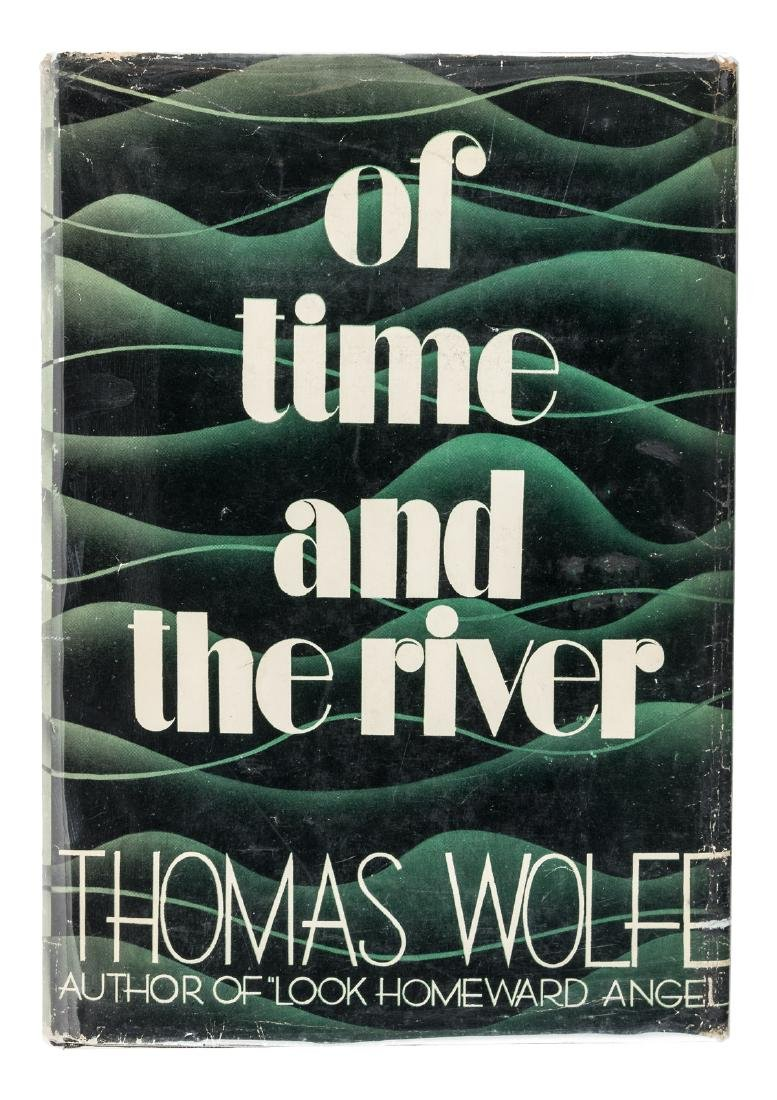 Of Time and The River. A Legend of Man's Hunger