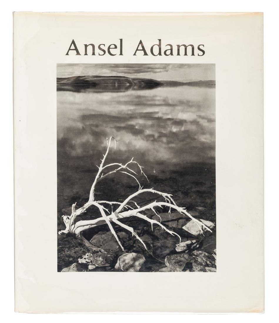 Signed by Ansel Adams