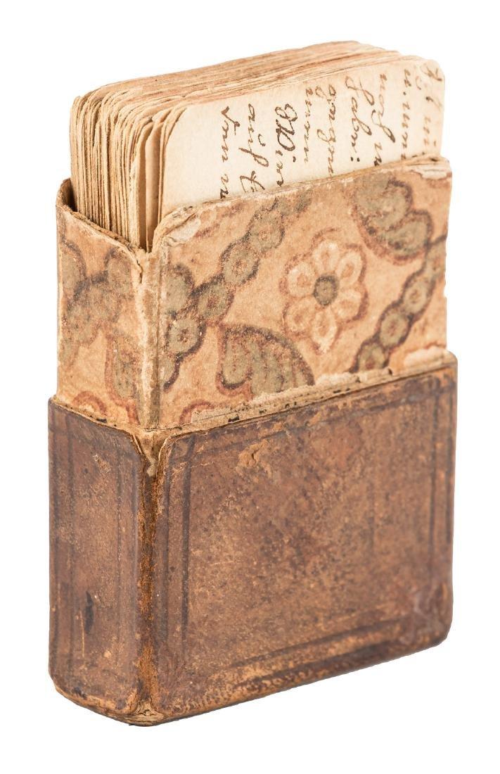 Manuscript cards for German Bible studies
