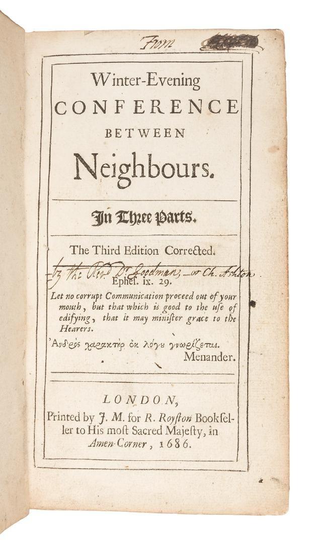 Philosophical ruminations 1686