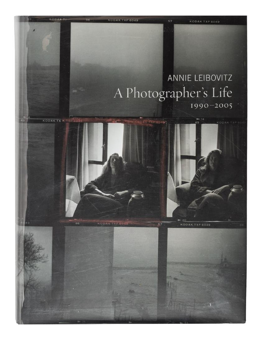 Annie Leibovitz Photographer's Life signed