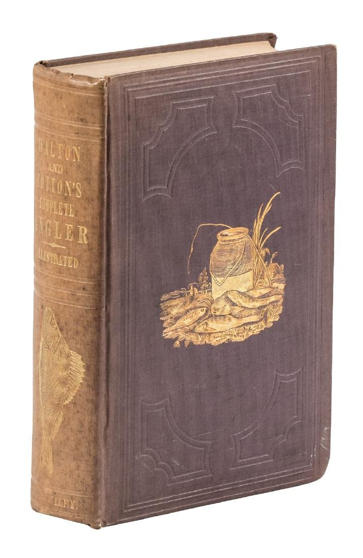 Second Bethune Edition of The Complete Angler 1848