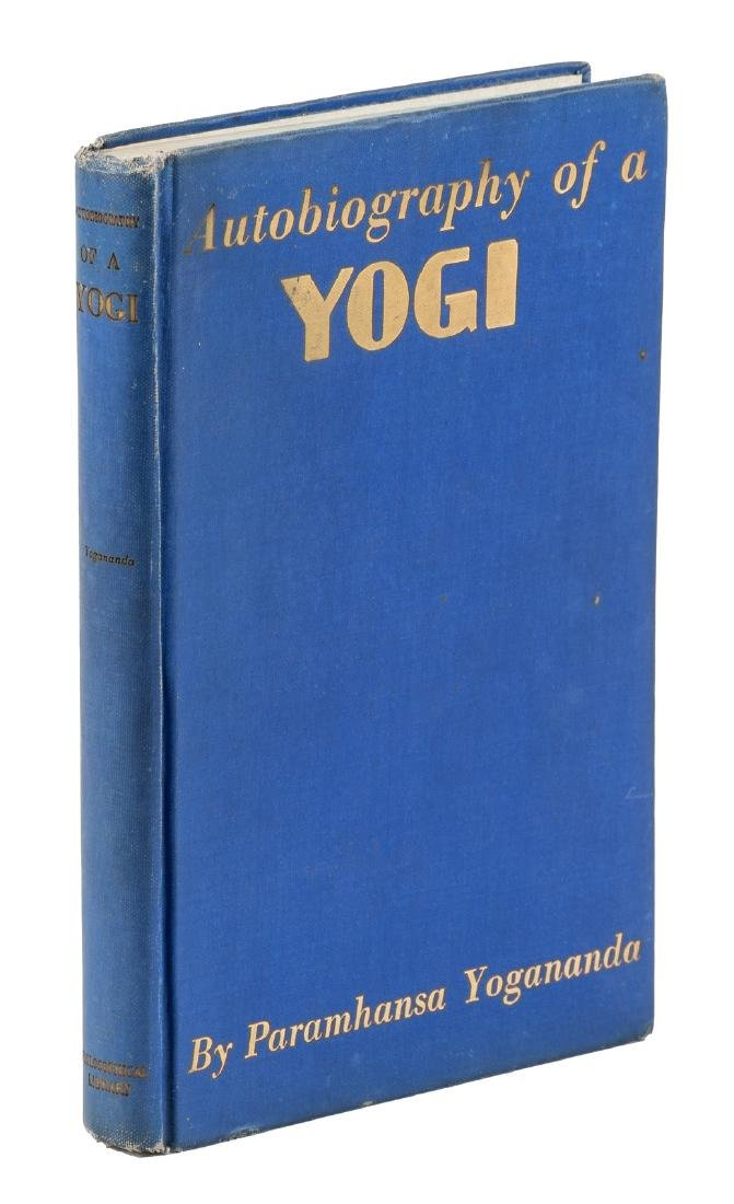Autobiography of a Yogi signed first ed.