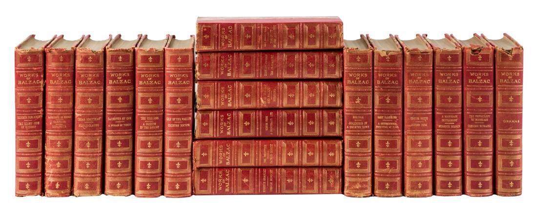 Works of Balzac 18 volumes