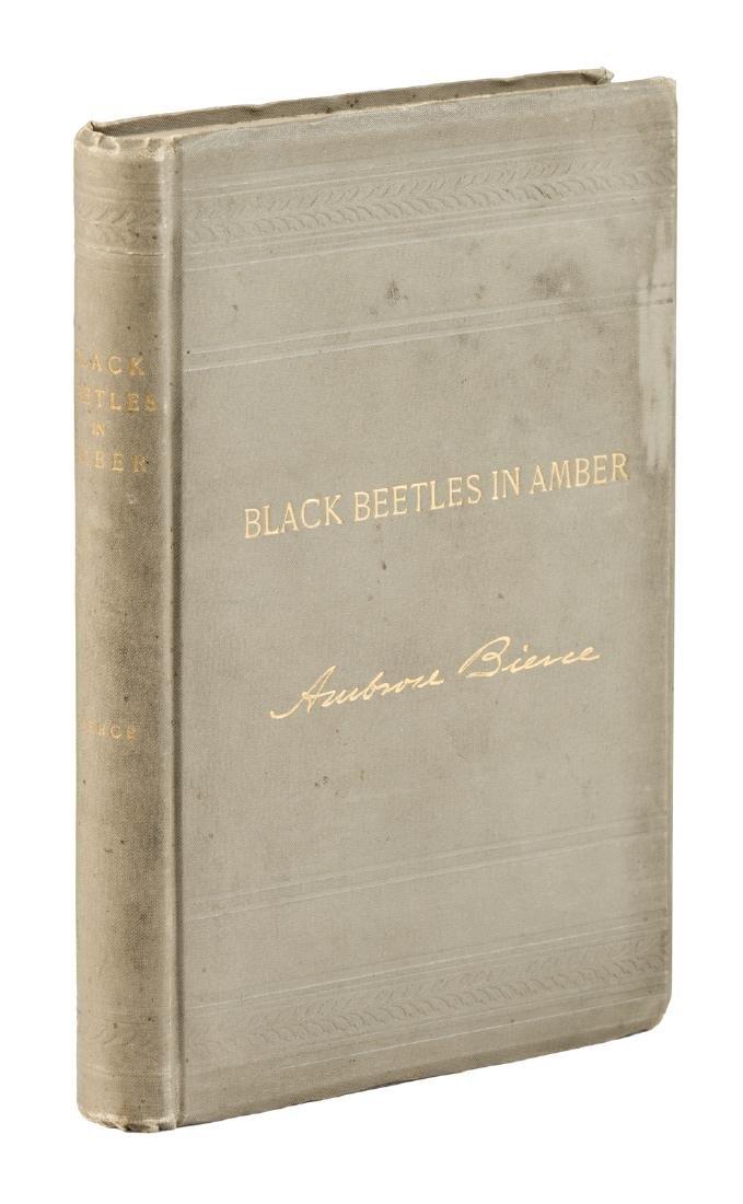 Ambrose Bierce Black Beetles in Amber
