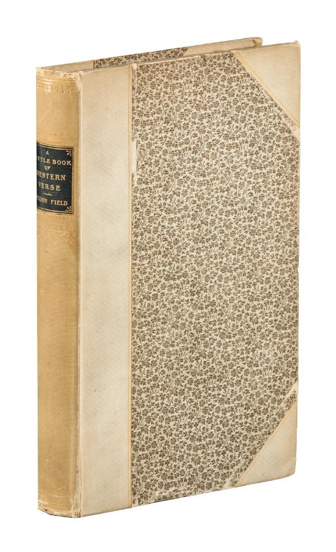 Eugene Field Little Book of Western Verse 1 of 250