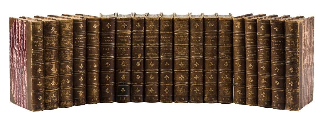 Works of William Makepeace Thackeray 19 volumes 1869